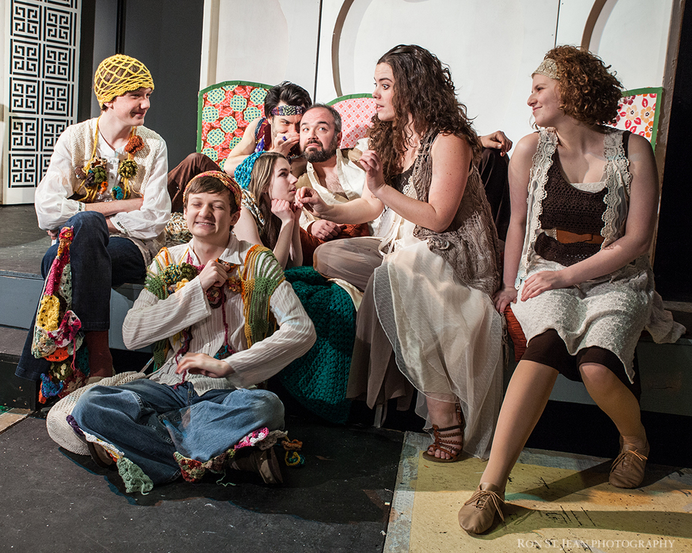2014, Shakespeare in the Snow 'A Midsummer Night's Dream' brought t.u's youth actors into the professional company at Cara Chameleon Club in Dover NH.   Photo Credit Ron St Jean Photography