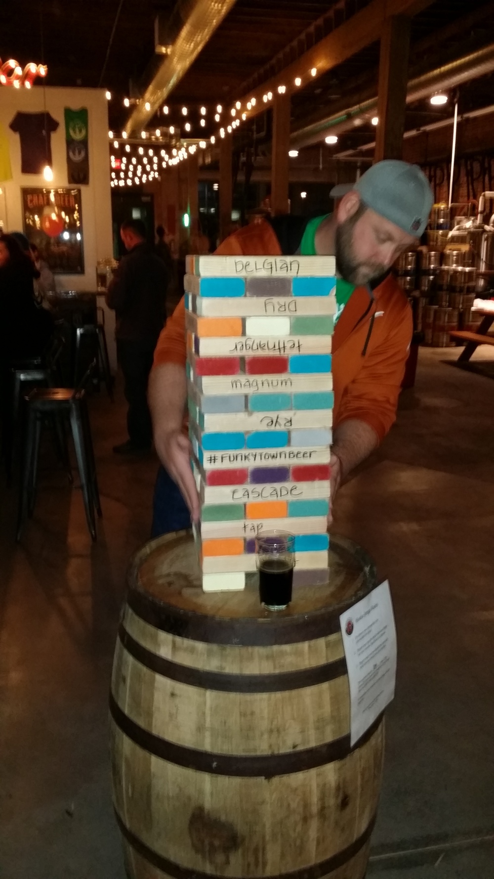Men's Trip to Collective Brewery (January 2015)