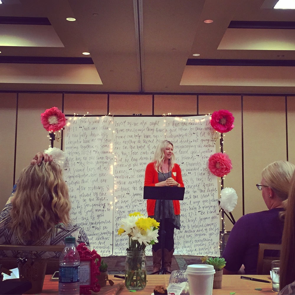 Leeana Tankersley at the {SHE} Women's Conference