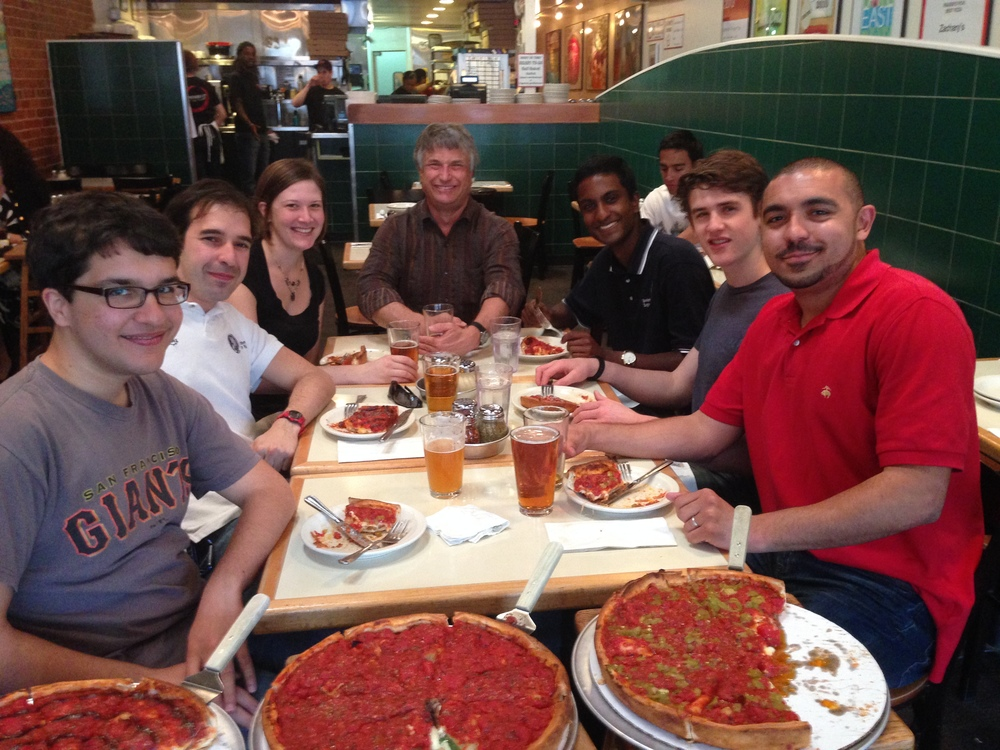 Liepmann Lab @ Zachary's Pizza (2014)