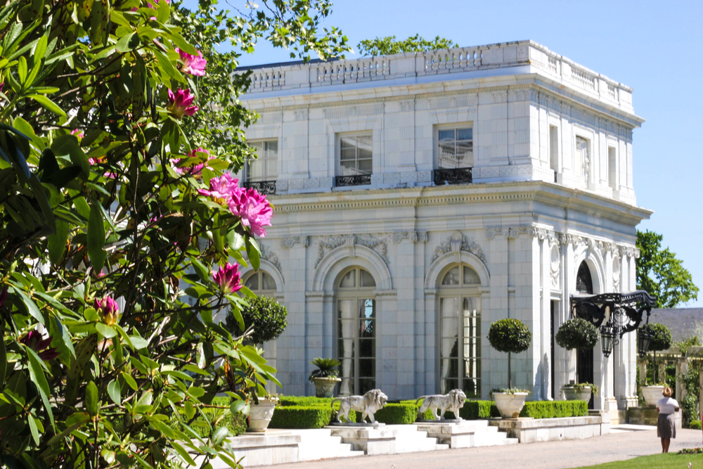 The Rosecliff Mansion
