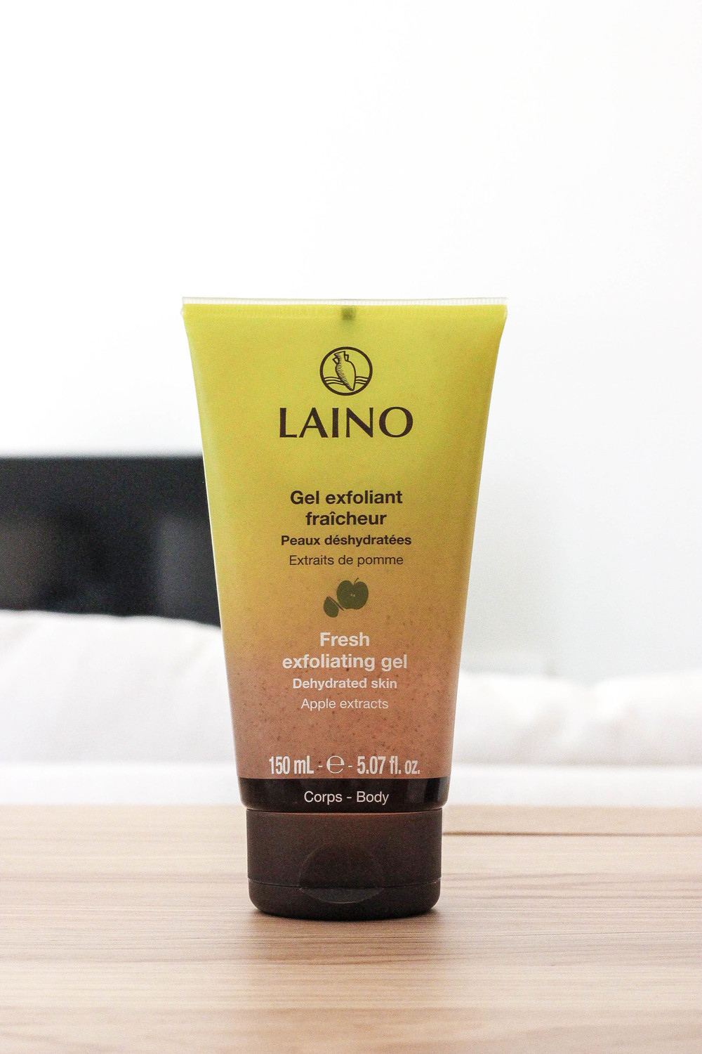 Gel exfoliant that promises not to dry your skin from Laino. Haven't tried yet but will!