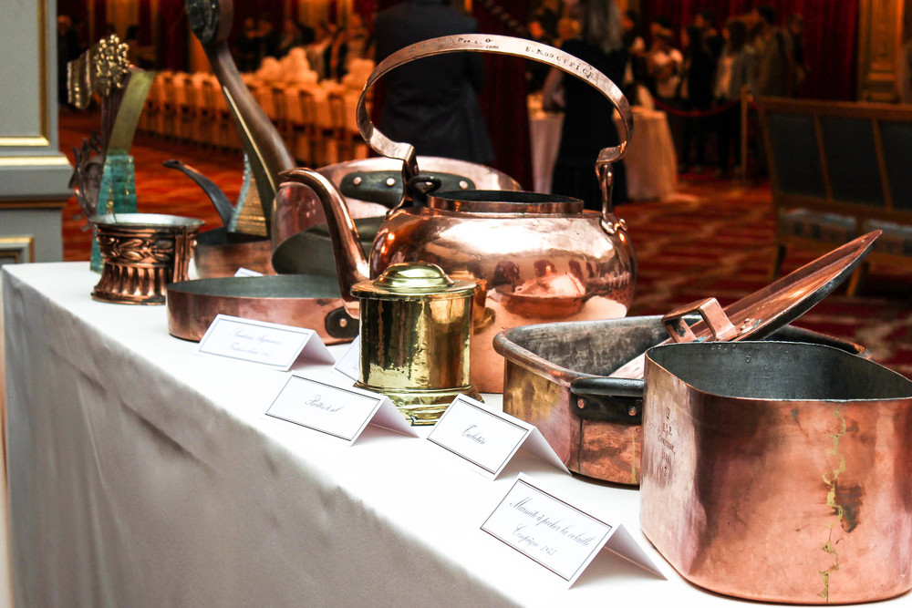 18th century cookware currently still in use to serve the President