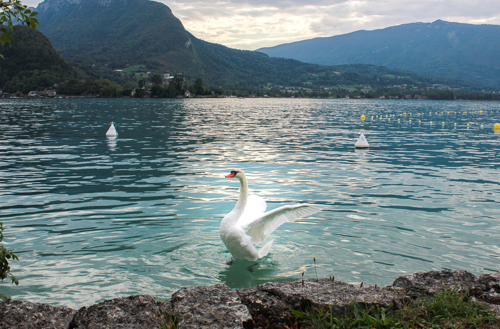 Lake Annecy, France - September, 2015