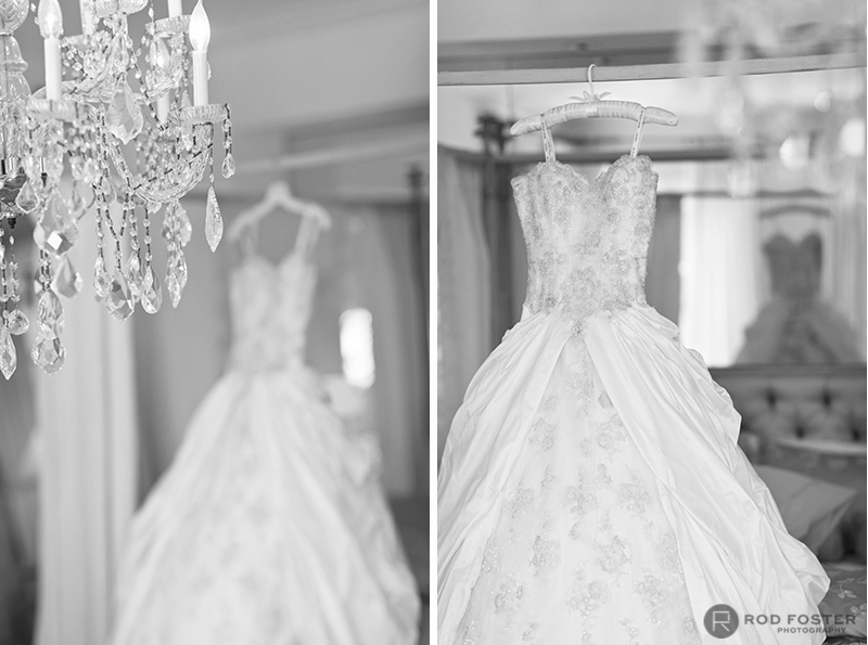 Pandora Vanderpump Wedding Dress by Ian Stuart