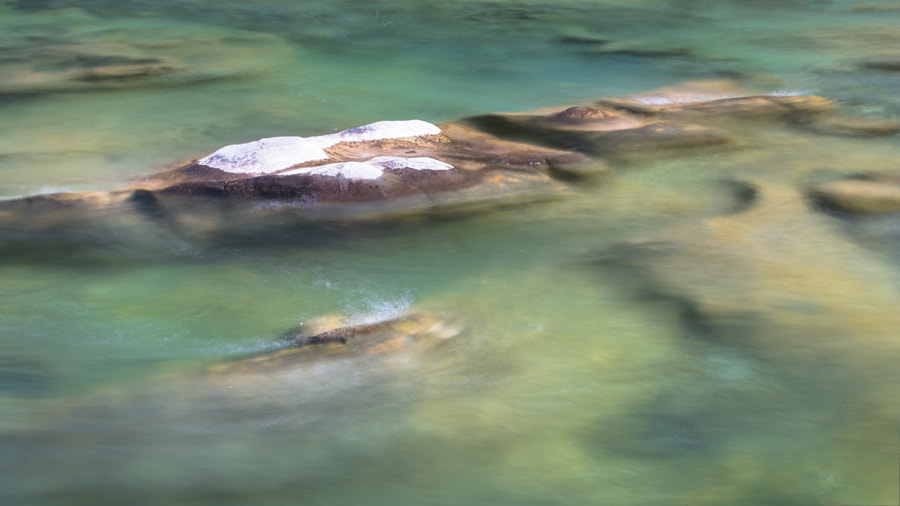 Elbow River Water Abstract.