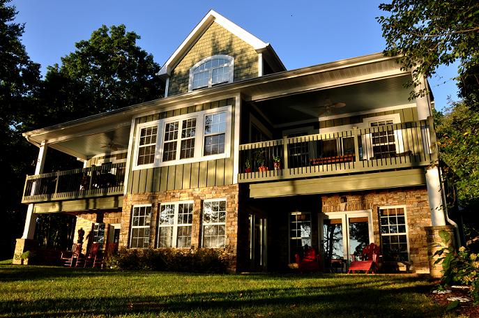 Lake Norman custom home