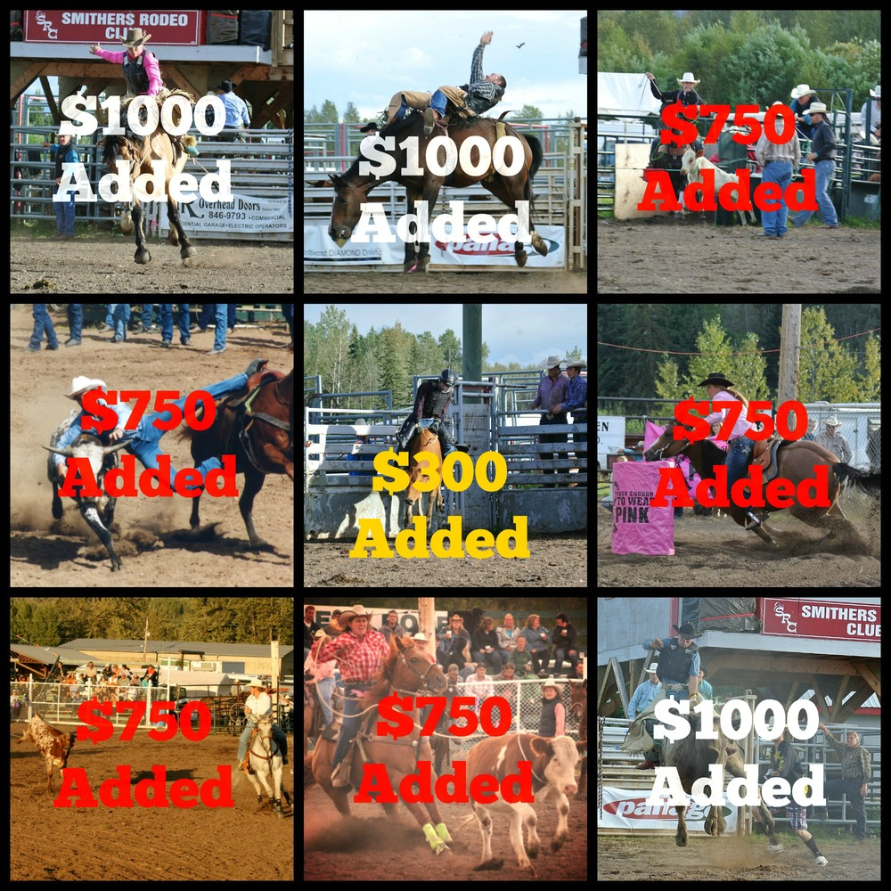 Smithers Rodeo Club - Monies Added Events