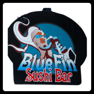 Smithers Rodeo Club Sponsor - Blue Fin Sushi - Smithers