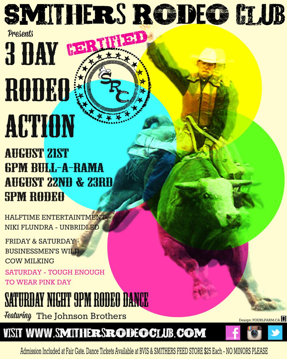 2014 SRC Event Poster - Design By :  FOURLFARM.CA
