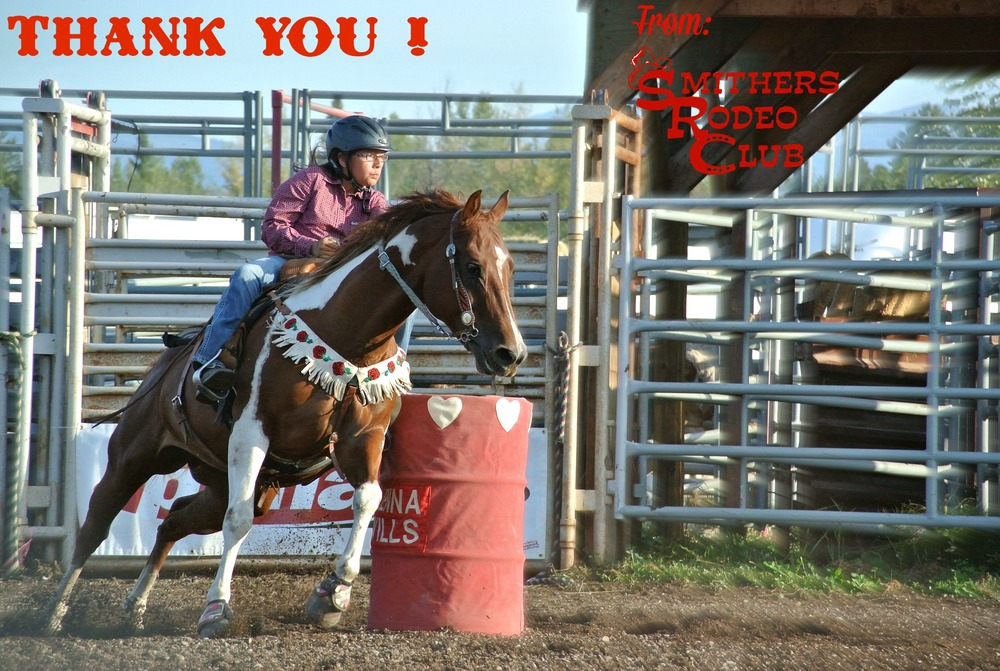 Smithers Rodeo Club - Thank you !