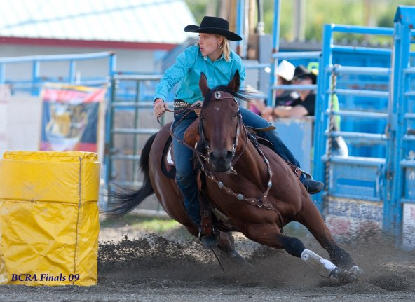 SRC Presents the LAURA JAMES Barrel Clinic