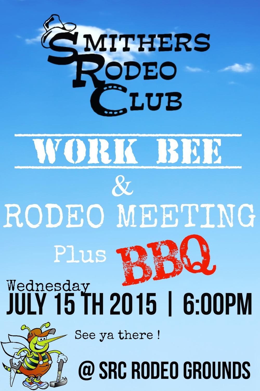SRC Work Bee Poster 2015