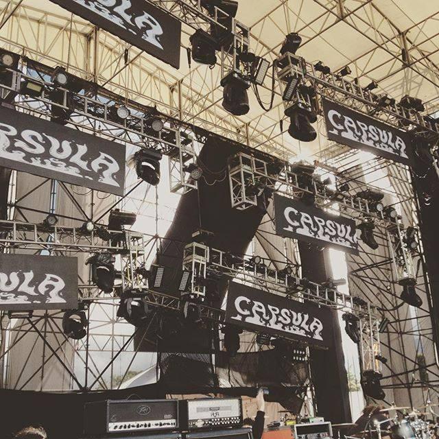 Soundcheck listo en Escenario Bio, Festival Rock al Parque . Los esperamos a todos a las 4.30 para rockearla. Bogotá Rock n Roll!!! #RockalParque2015