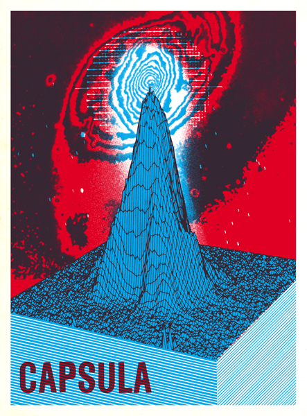 #Capsula #Tour #Poster by Scott Campbell 2010