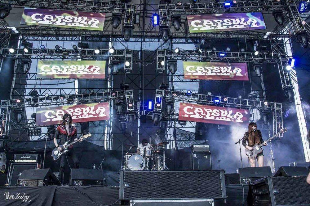 Capsula Band - Rock Al Parque - Bogota - Colombia