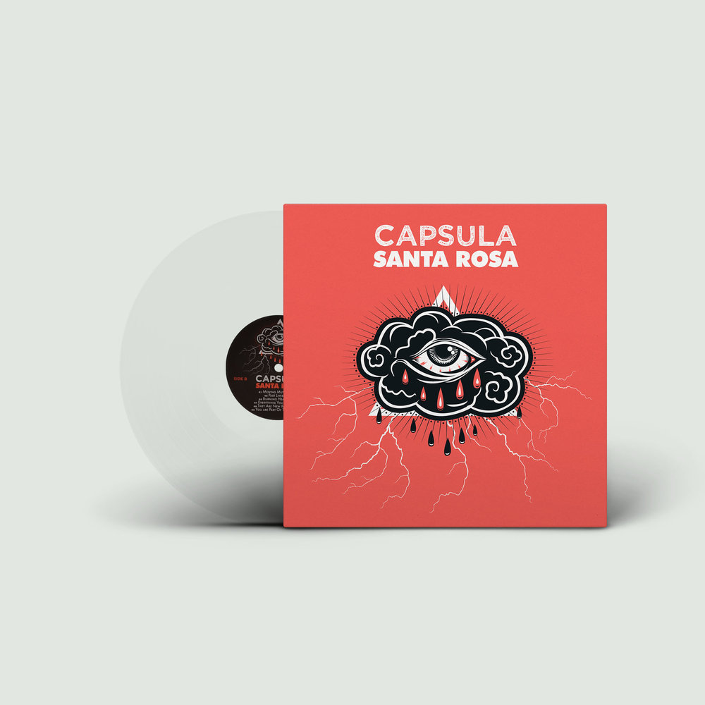 Copy of Capsula Santa Rosa Vicious Circle Edition Clear Vinyl