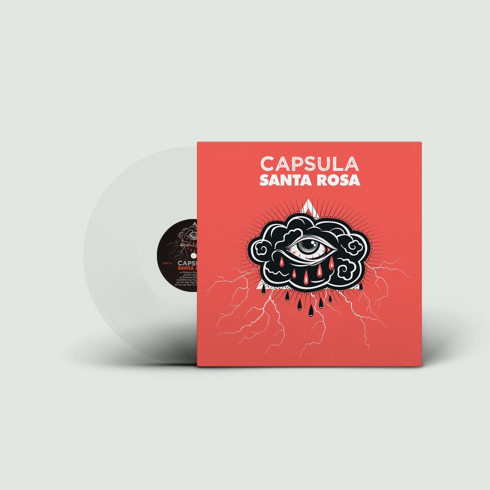 Capsula Santa Rosa Vicious Circle Edition Clear Vinyl