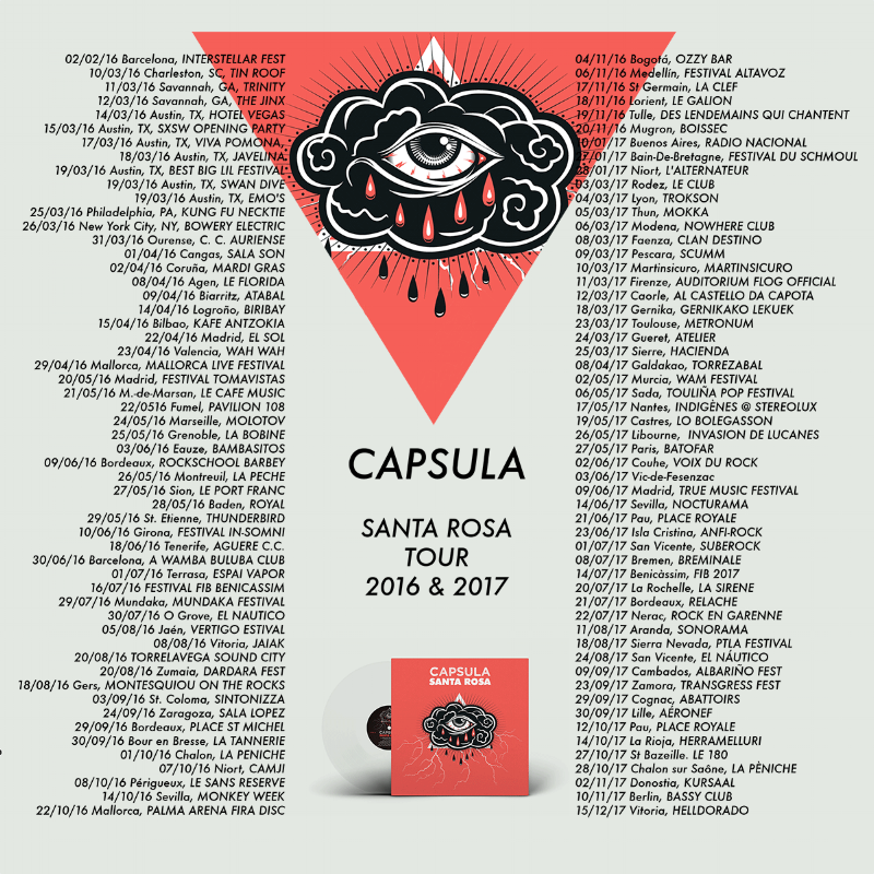 Capsula Band Santa Rosa Tour