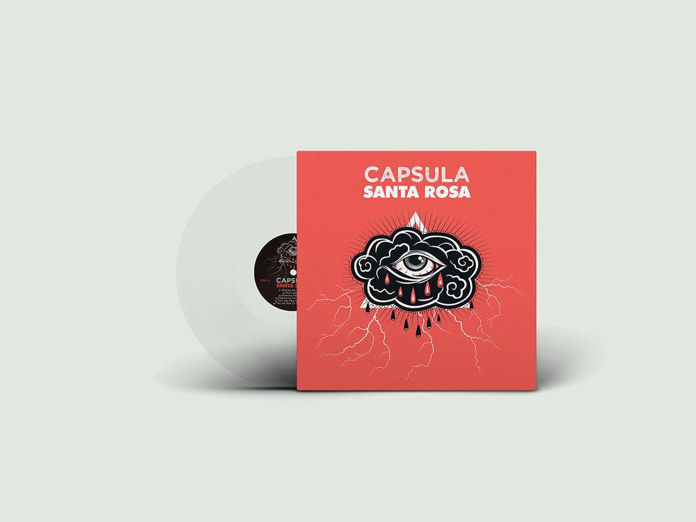 Santa Rosa - LP - Clear Vinyl (France) - Format: Vinyl, LP, Clear, Label: Vicious Circle Country: France Date: 2016, Genre: Rock Style: Garage Rock, Psychedelic Rock