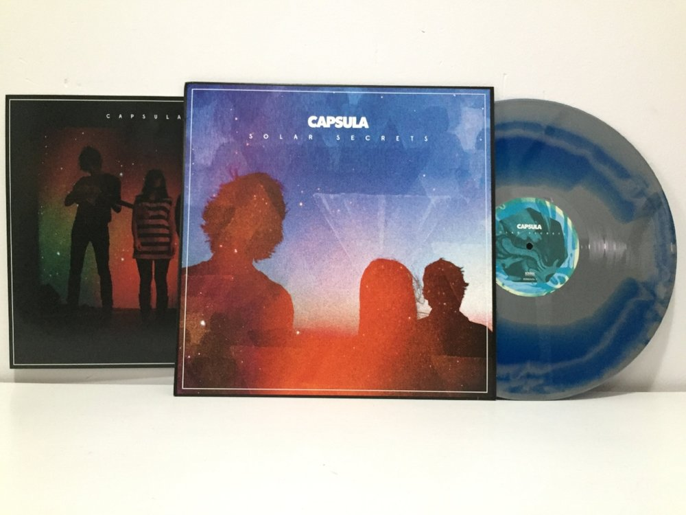 SOLAR SECRETS - LP - USA Edition - Volcano Blue & Silver Swirl VinylSOLAR SECRETS - LP - European Edition - Gatefold - Volcano Blue & Purple Swirl Vinyl SOLD OUT - 2013 Album