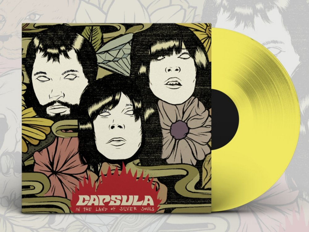 IN THE LAND OF SILVER SOULS - LP - 1st Edition - Transparent Acid Lemon Vinyl SOLD OUTIN THE LAND OF SILVER SOULS- LP - 2nd Edition - Transparent Ruby Vinyl SOLD OUT - Format: Vinyl, LP, YELLOW, Label: BCORE Country: SPAIN Date: 2011, Genre: Rock Style: Garage Rock, Psychedelic Rock