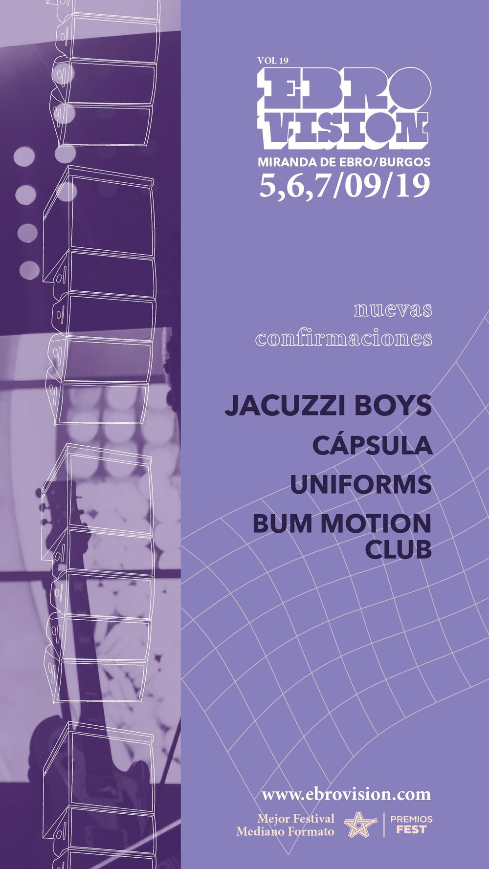 Capsula Ebrovision Confirmaciones Jacuzzi Boys Uniforms Bum Motion Club