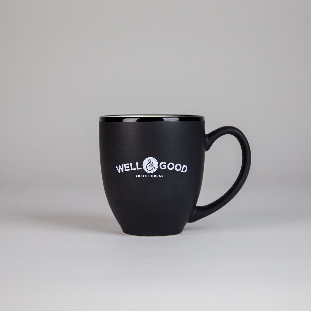 Well & Good Mugs - $12