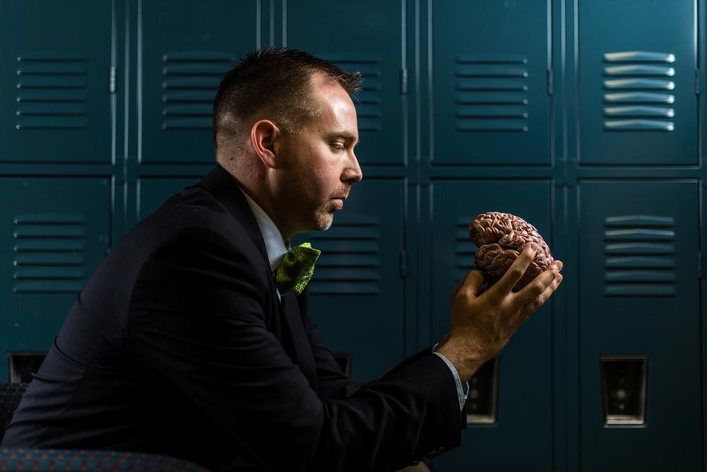 The Man Who Studies the Brain Studies