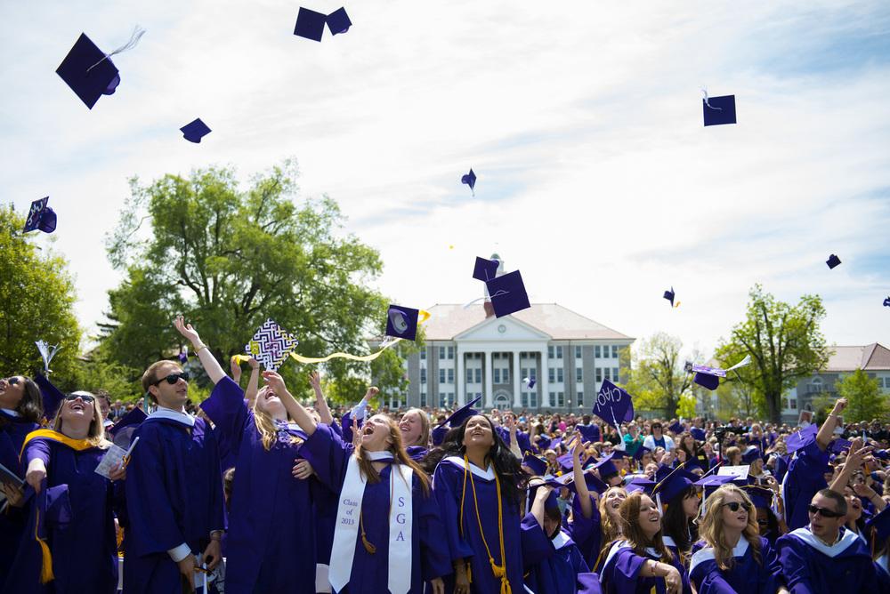 James Madison University Commencement
