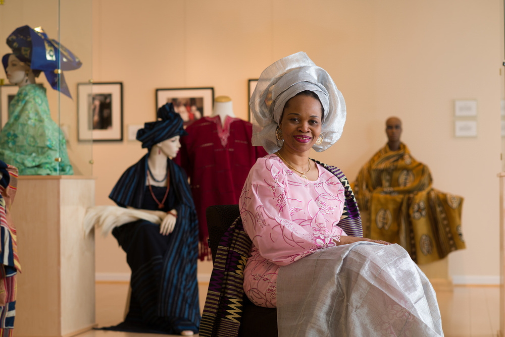 James Madison University: Exhibit on African Attire