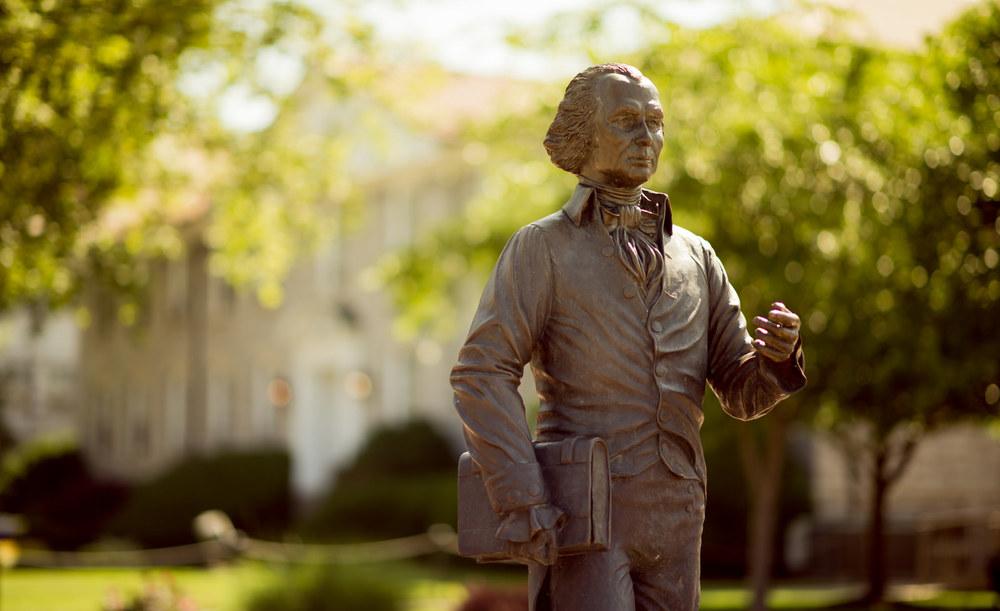 James Madison University: Madison Statue