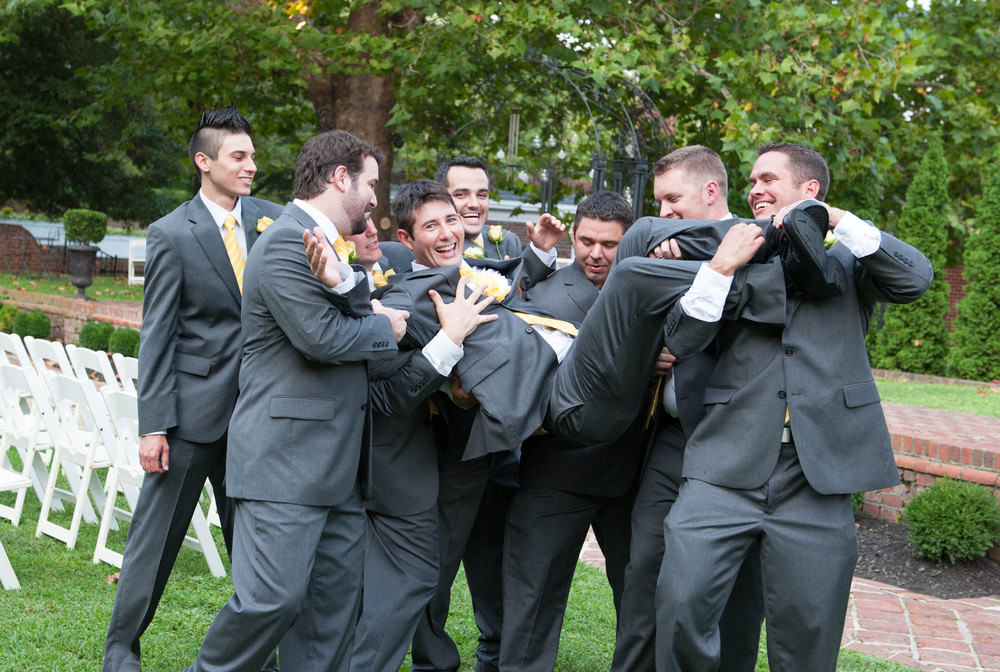 Groom and His Groomsmen Photography