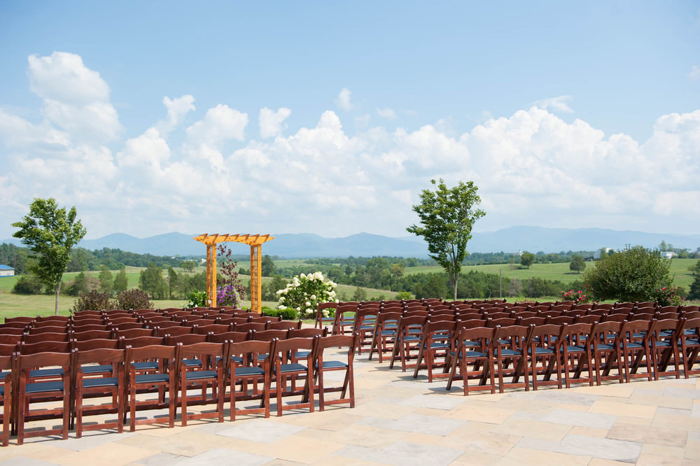 Wedding Setup in Harrisonburg