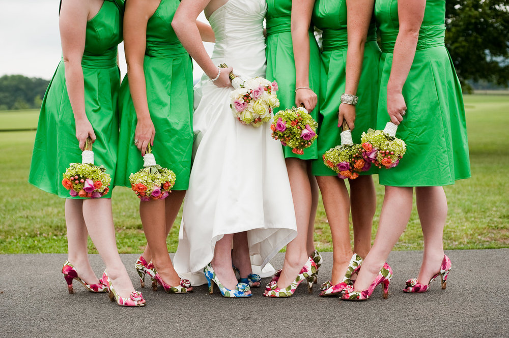 Bride and Her Bridesmaids Photography