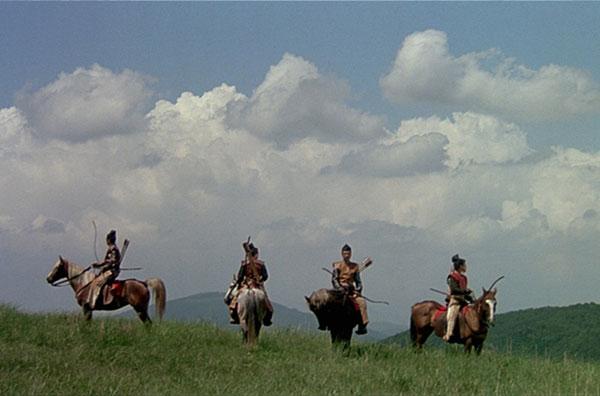 Opening scene from 'Ran' by Akira Kurosawa