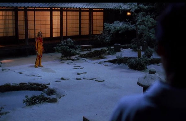 Kill Bill - Final scene of film one