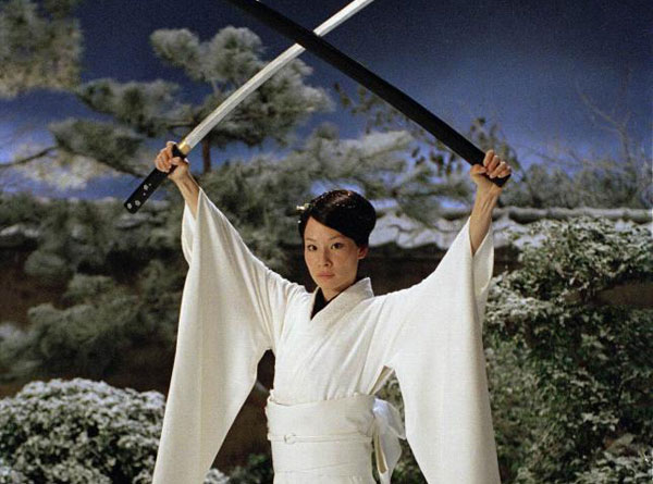 Kill Bill - Lucy Lu plays O-Ren Ishii a very strong female character much like Lady Snowblood