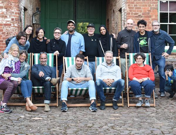 Photo taken of the participants of Di Devon 2018