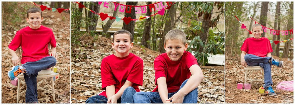 I got the opportunity to meet and photograph four siblings - They were just darling! So sweet, loving and fun!