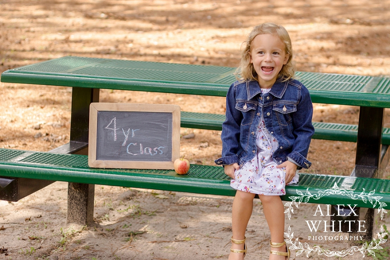 Back to School Mini Session Mother's Day Out Kingwood, TX photographer alexwhitephoto