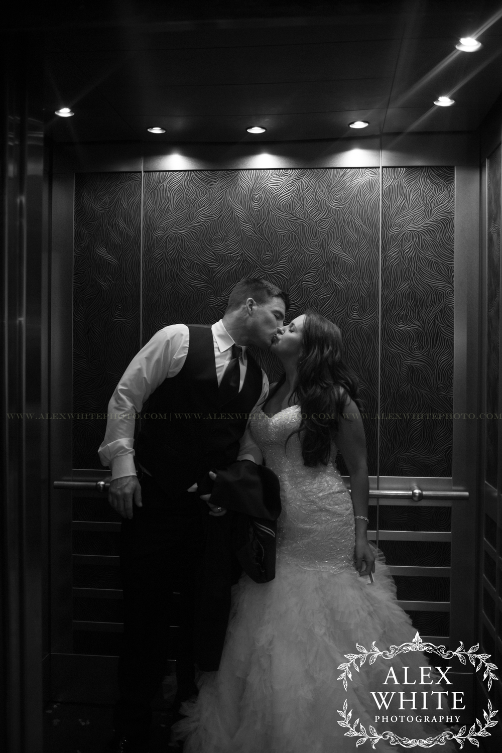 The best part about their exit was the elevator. Such a romantic way to say goodbye :)