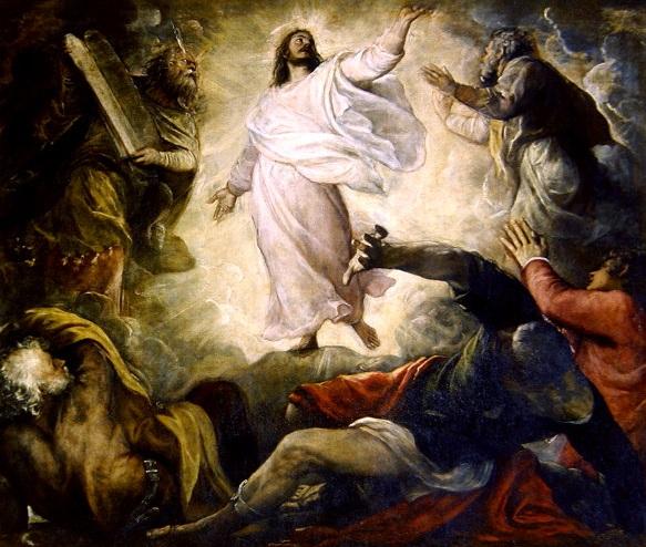 Transfiguration,  Titian (1560)
