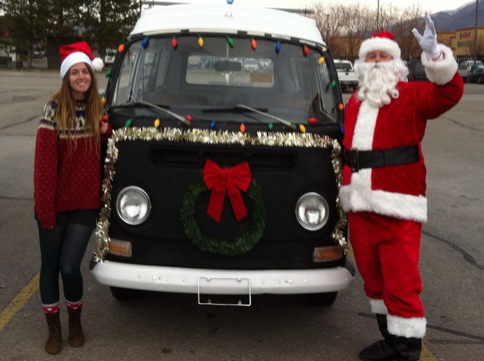 Em the elf & santa