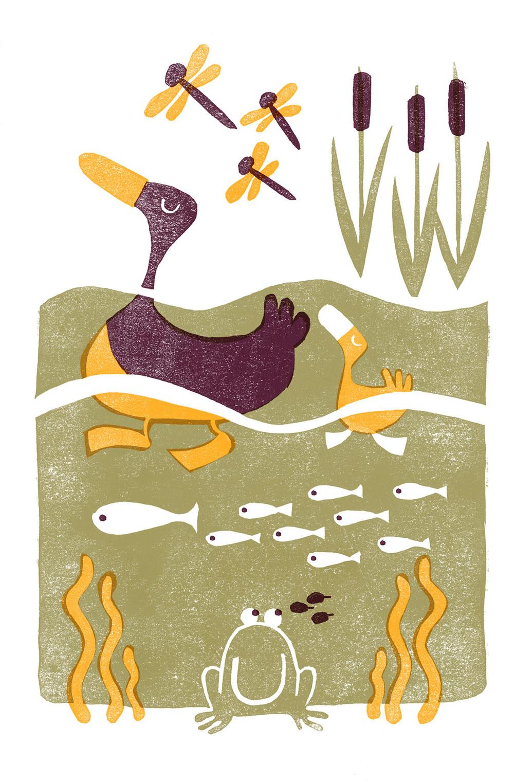 Pond Moms