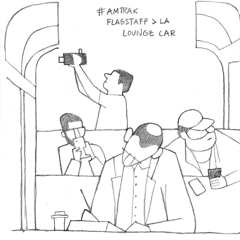 Amtrak, Flagstaff > LA