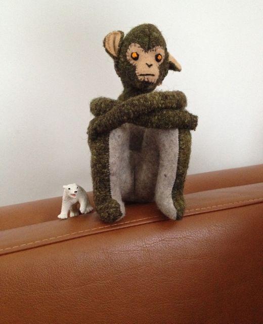 monkey-pondering