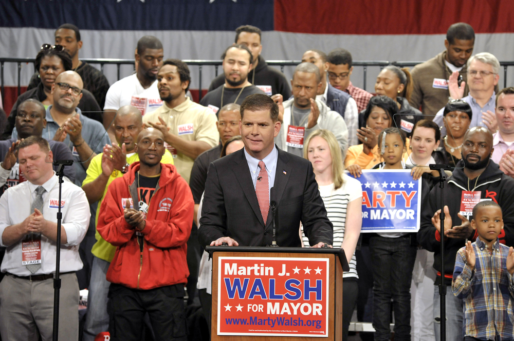 Boston Mayor Elect Marty Walsh