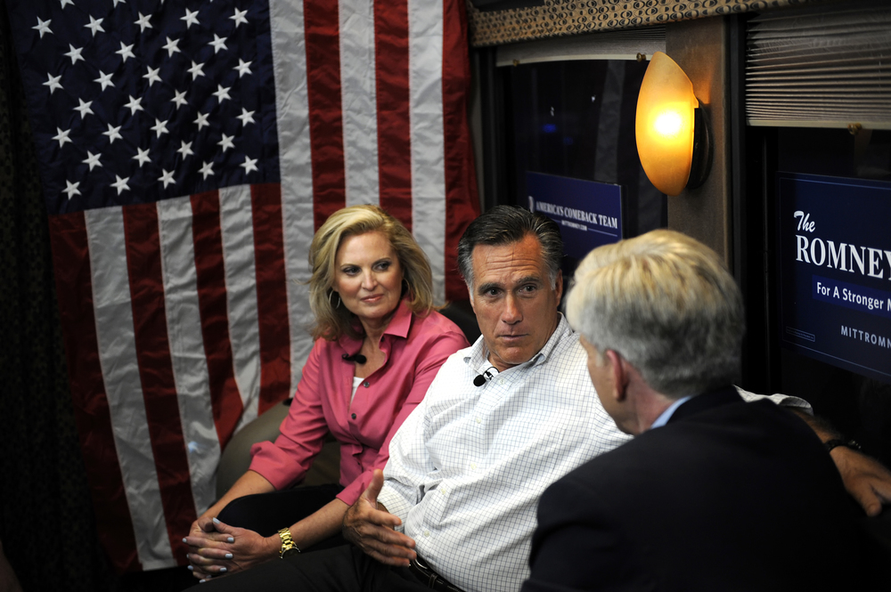 Mitt Romney on NBC Meet the Press with David Gregory