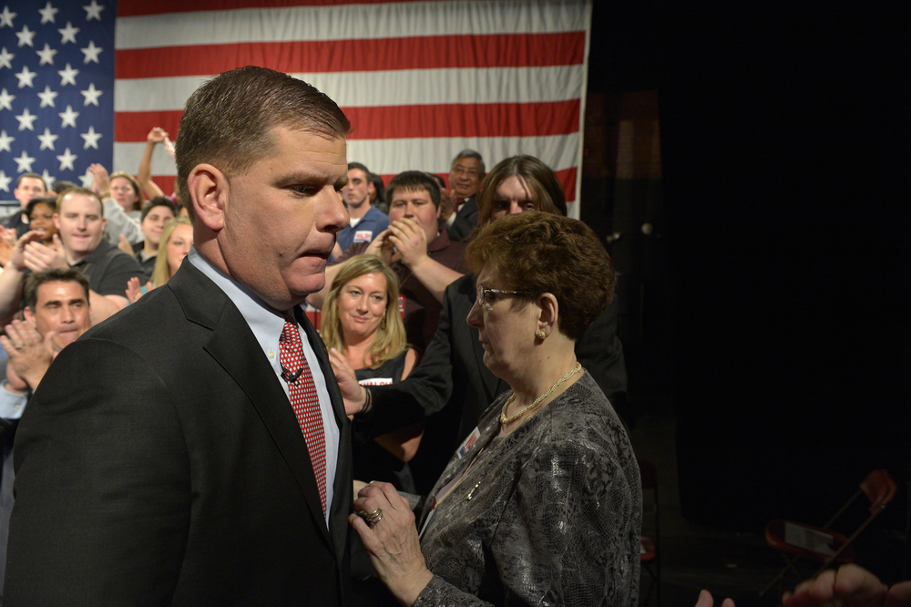Boston Mayor Marty Walsh